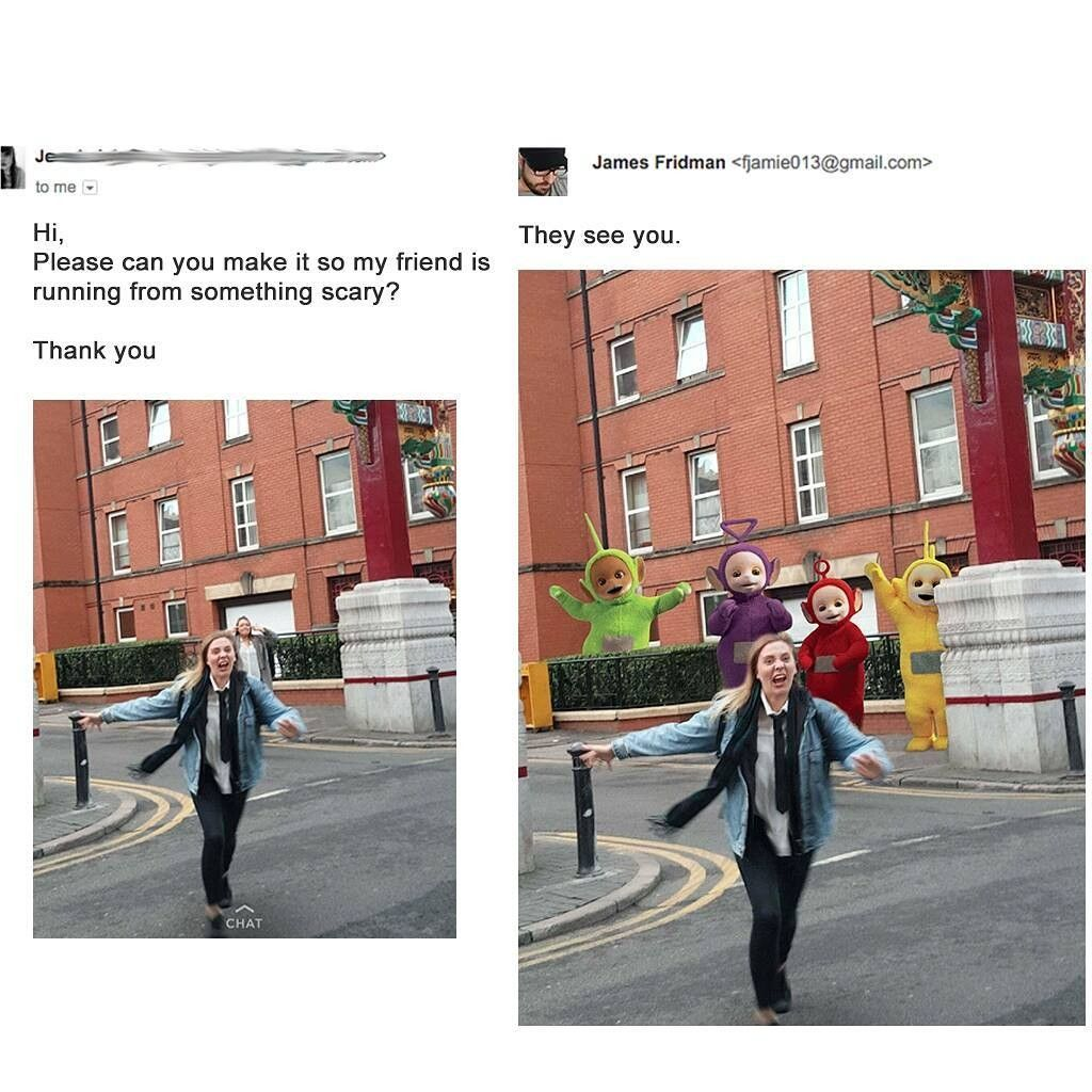 10 Foto Editan Photoshop Nyeleneh Ini Bikin Super Ngakak