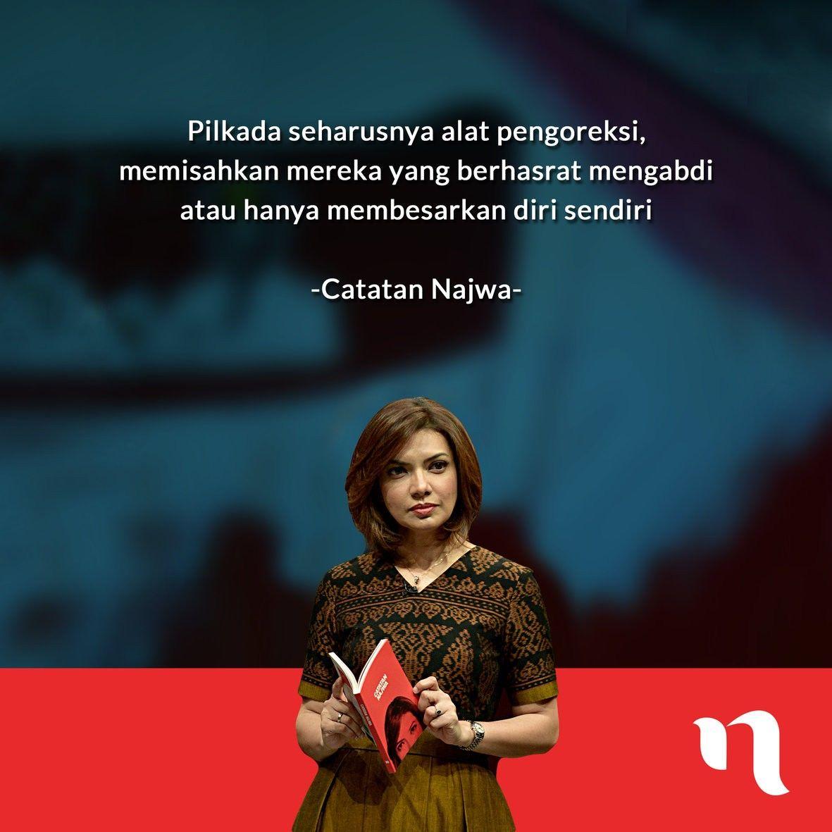 Quote Inspiratif Najwa Shihab Untuk Jadi Perempuan Tangguh