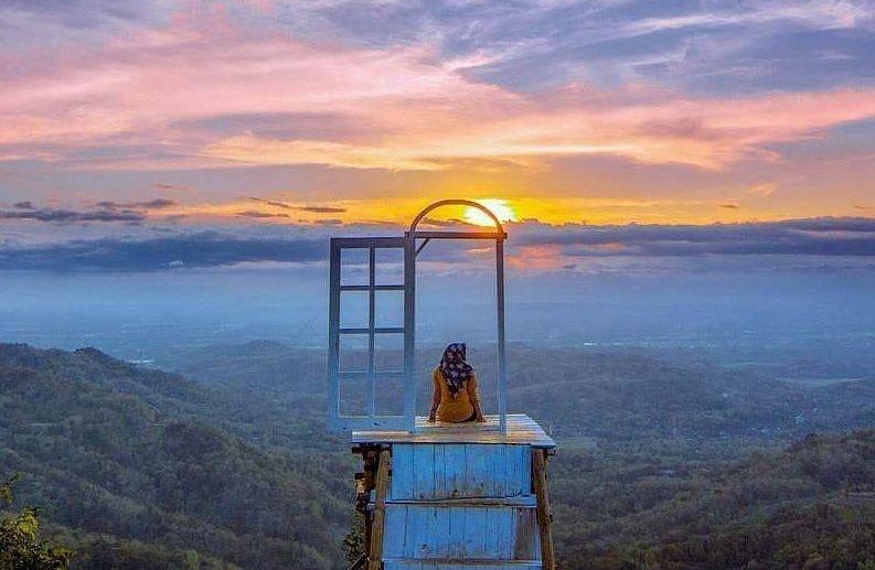 Spot Foto di Bantul Ini Membuatmu Bak Berada di Atas Langit