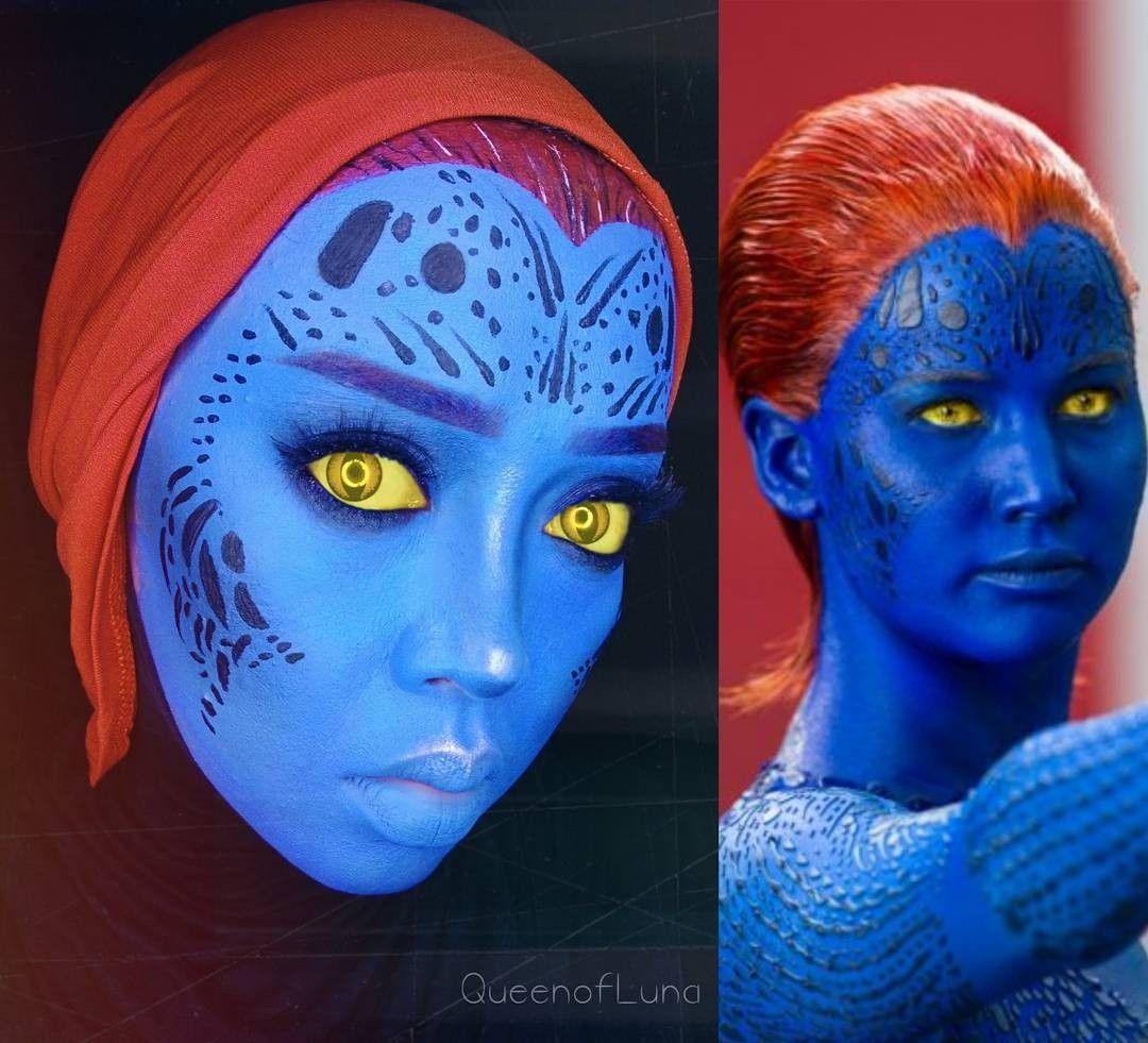 Gokil! Hijaber Ini Bisa Ciptakan Beragam Karakter dengan Makeup