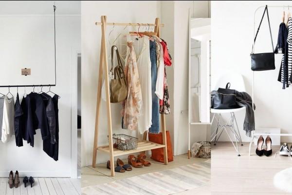Unik Inspirasi 8 Rak Baju Ini Bisa Mempercantik Tampilan Kamarmu
