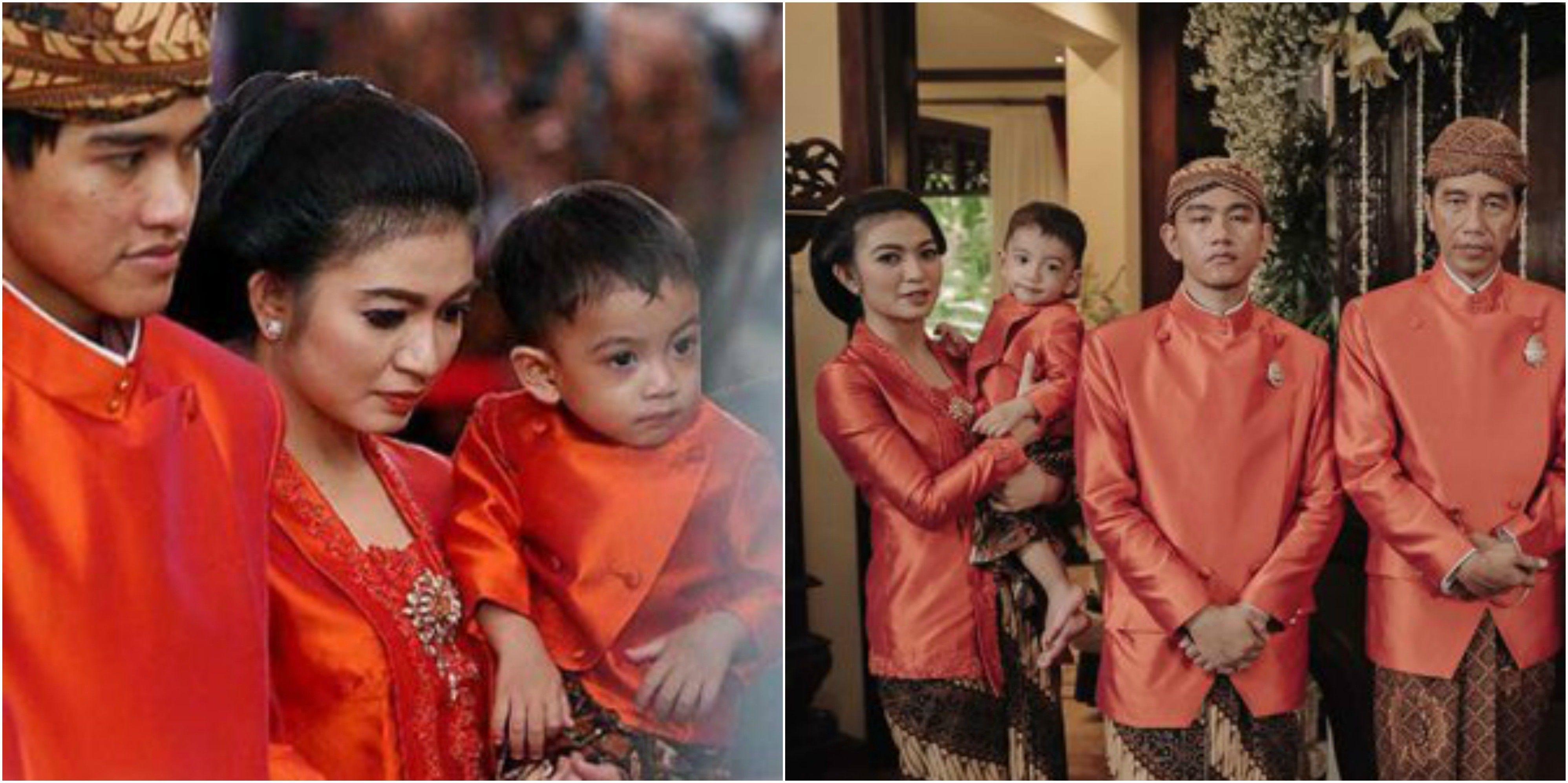 Gemesin, Ini 7 Foto Jan Ethes Cucu Jokowi yang Resmi Jadi Kakak