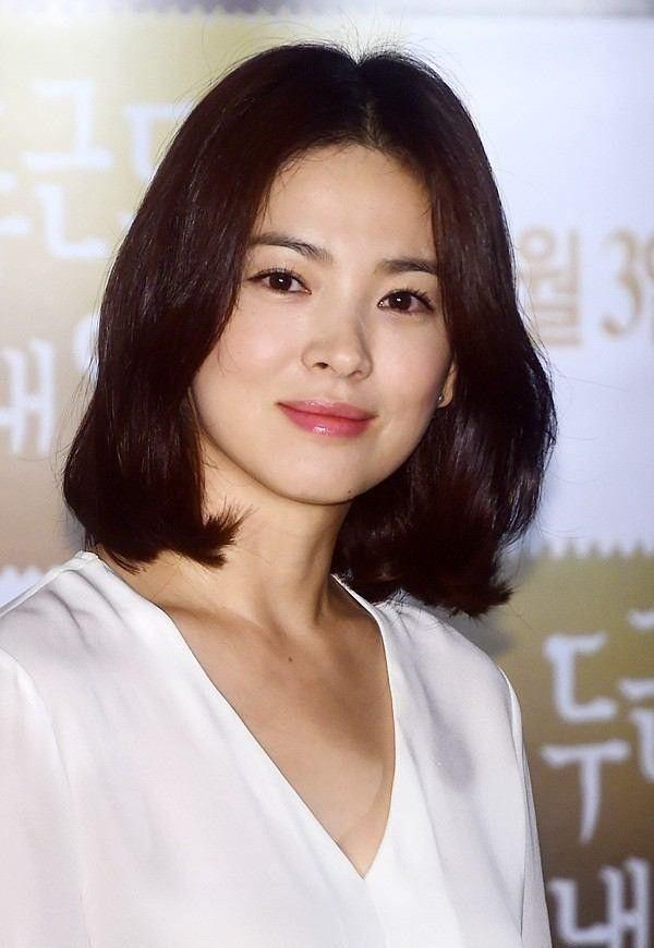 rambut pendek korea bob songhyekyo1