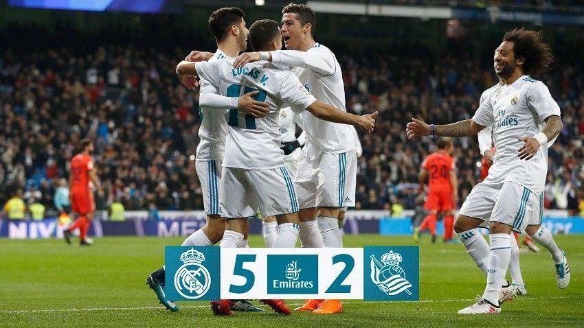 Real Madrid & PSG Sama-sama Menang Jelang Duel di Liga Champions Eropa