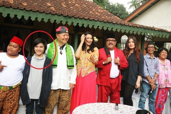 10 Potret Fahreyza Anugrah Anak Doel Dan Sarah Di Si Doel The Movie