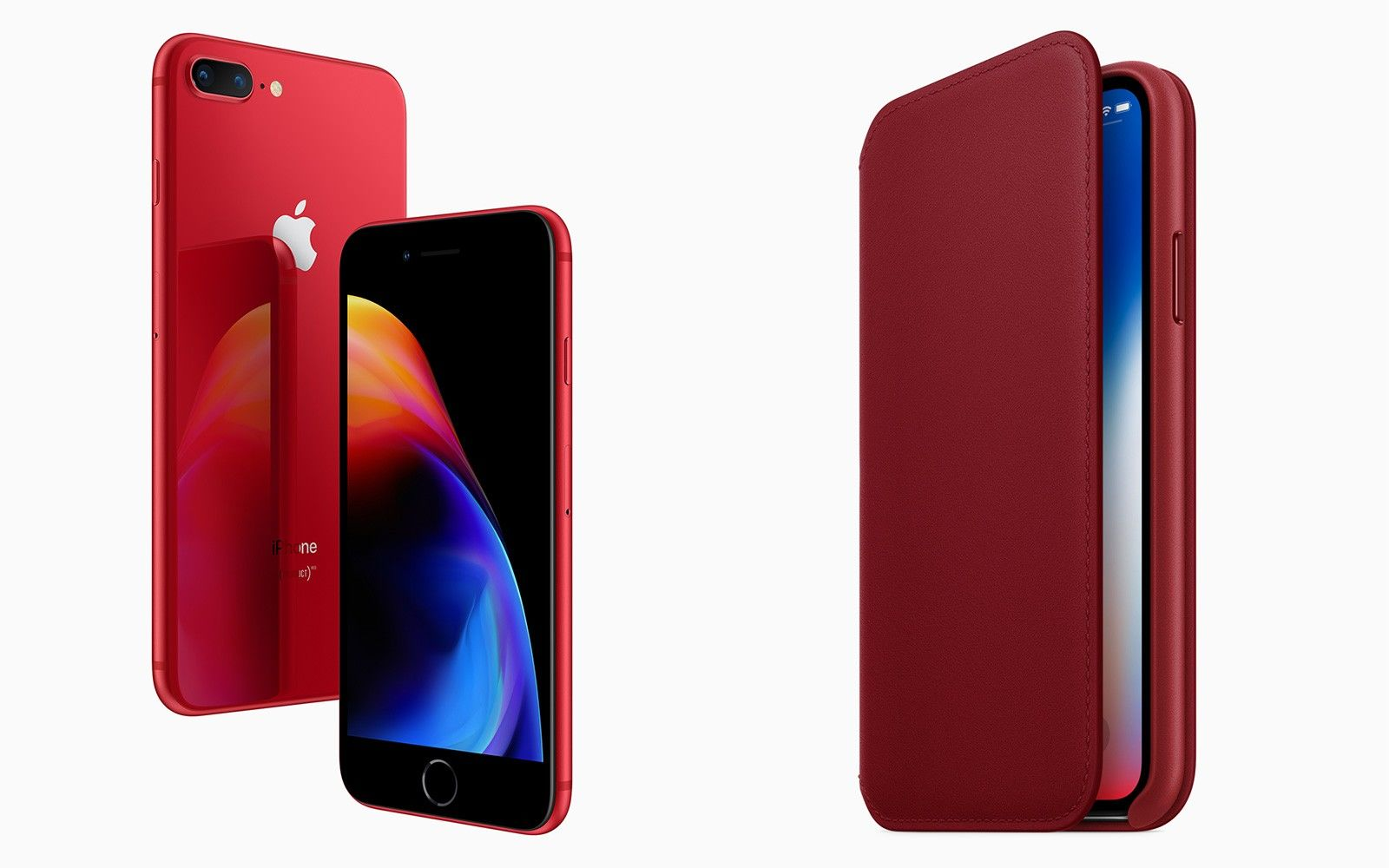 Apple Umumkan Perilisan iPhone 8 dan 8 Plus Spesial Warna Merah