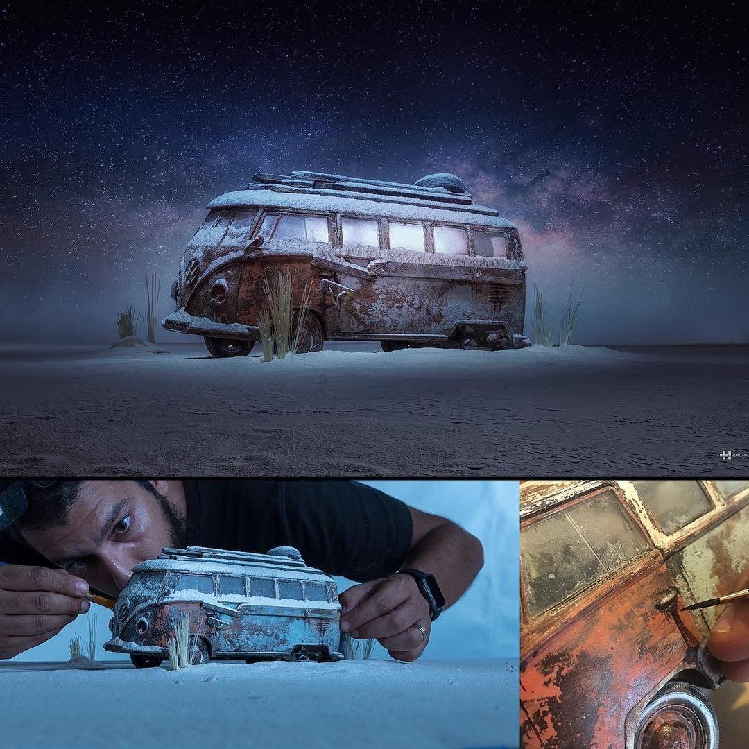 Lewat Sentuhannya, Fotografer Ini Membuat Miniatur Jadi Tampak Hidup