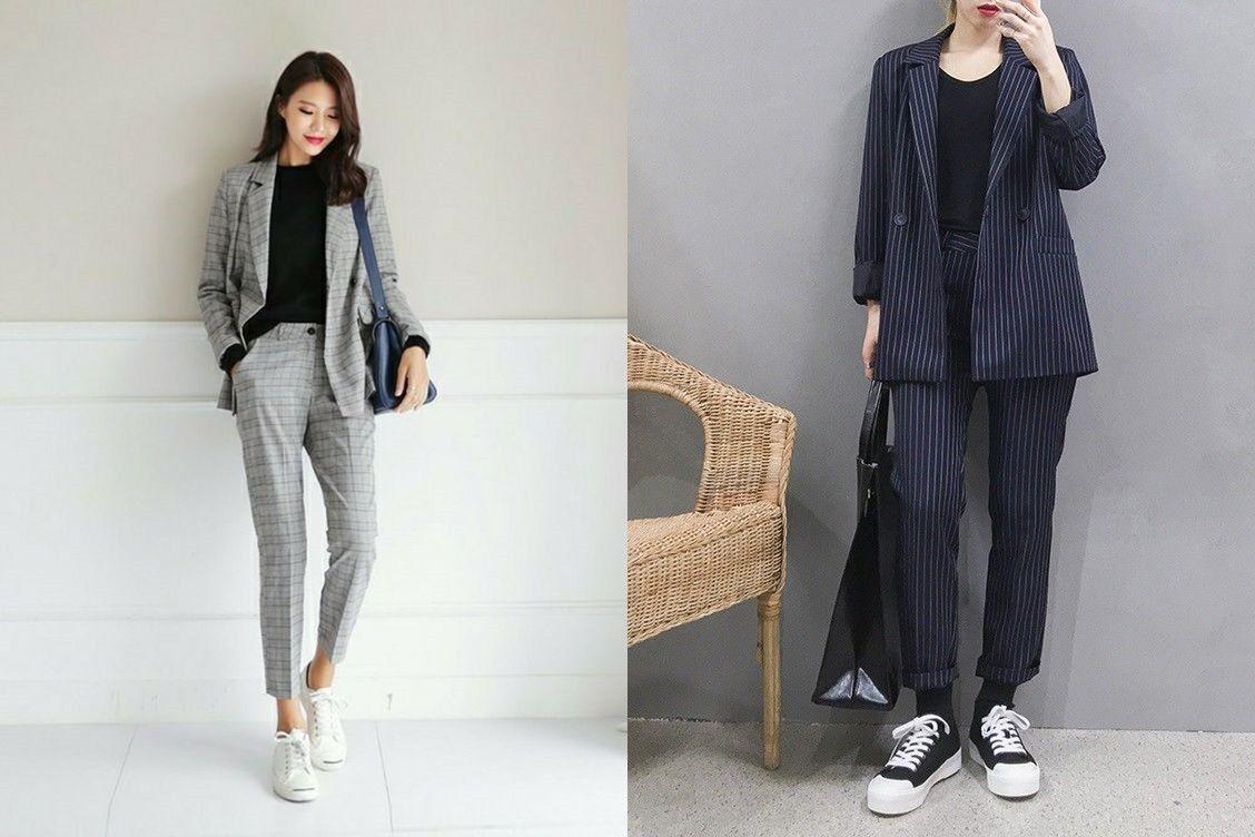 10 Inspirasi Office Look Ala Cewek Korea Biar Makin Stylish Di Kantor