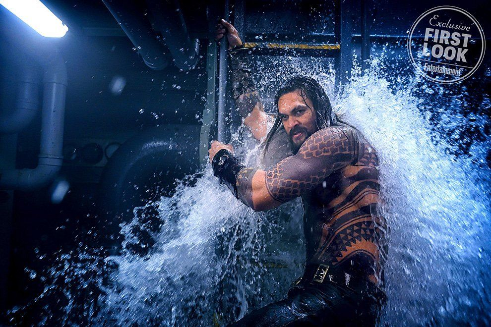 Deretan Foto Aquaman Perlihatkan First Look Sang Villain, Black Manta