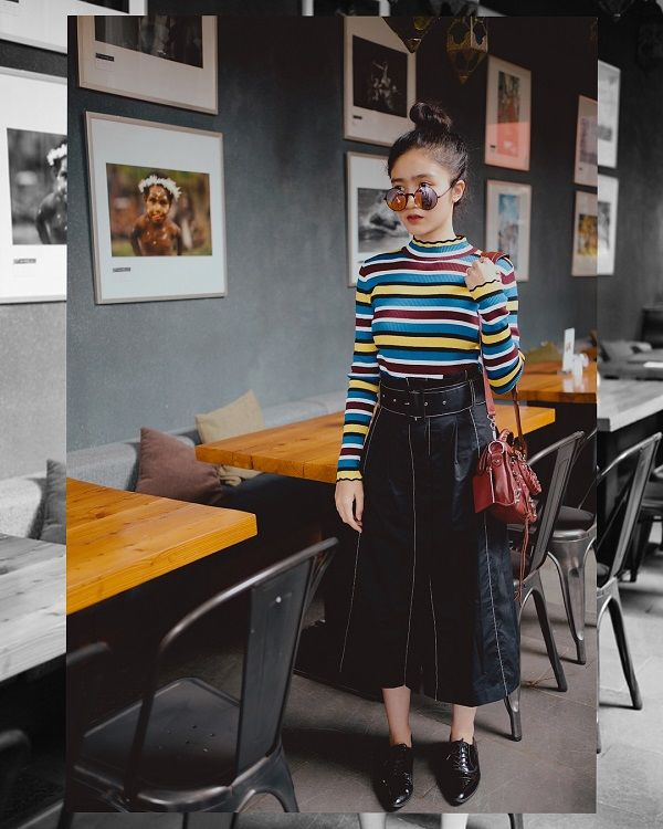 10 Style Feminin Febby Rastanti, Cocok untuk Mahasiswi di Perantauan