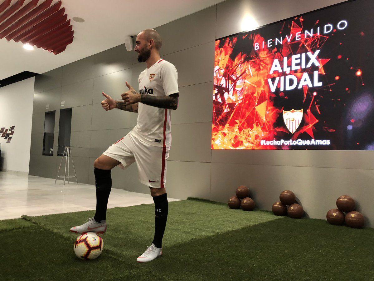 Aleix Vidal Resmi Hijrah dari FC Barcelona Menuju Sevilla FC