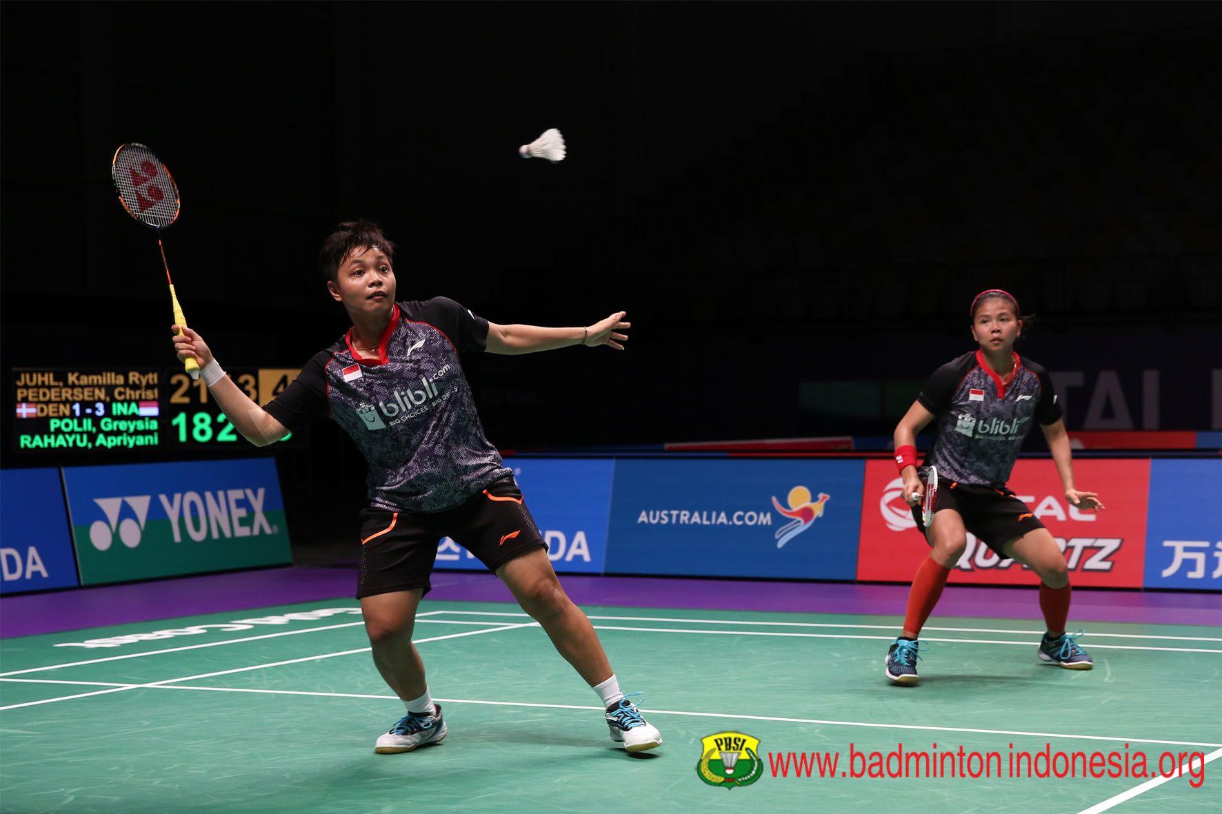 Hasil dan Klasemen Sementara Indonesia di BWF World Tour Finals