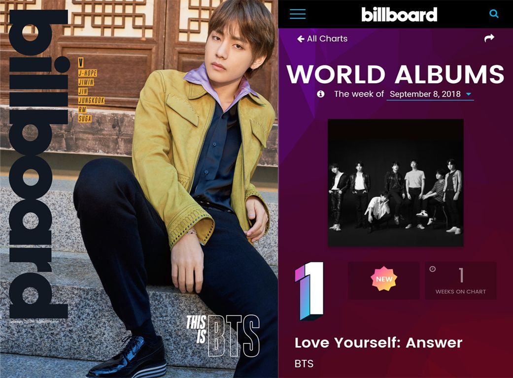 Rekor Baru, 'Love Yourself: Answer' BTS Kembali Rajai Tangga Billboard