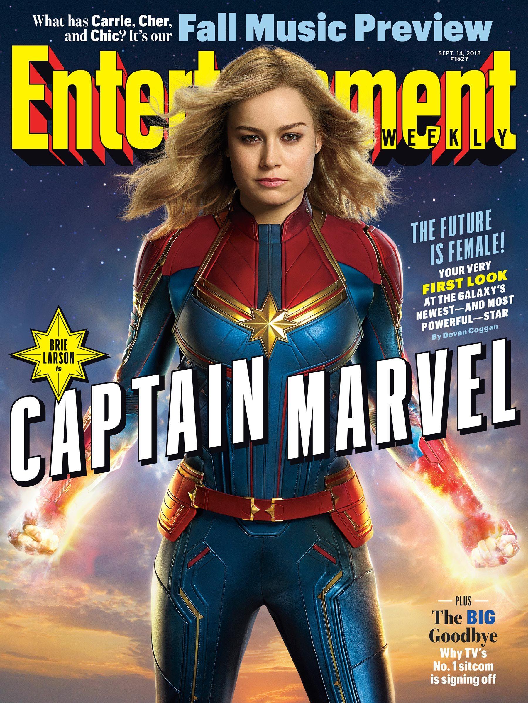 Dinanti Cukup Lama, Captain Marvel Akhirnya Rilis Deretan Foto Perdana