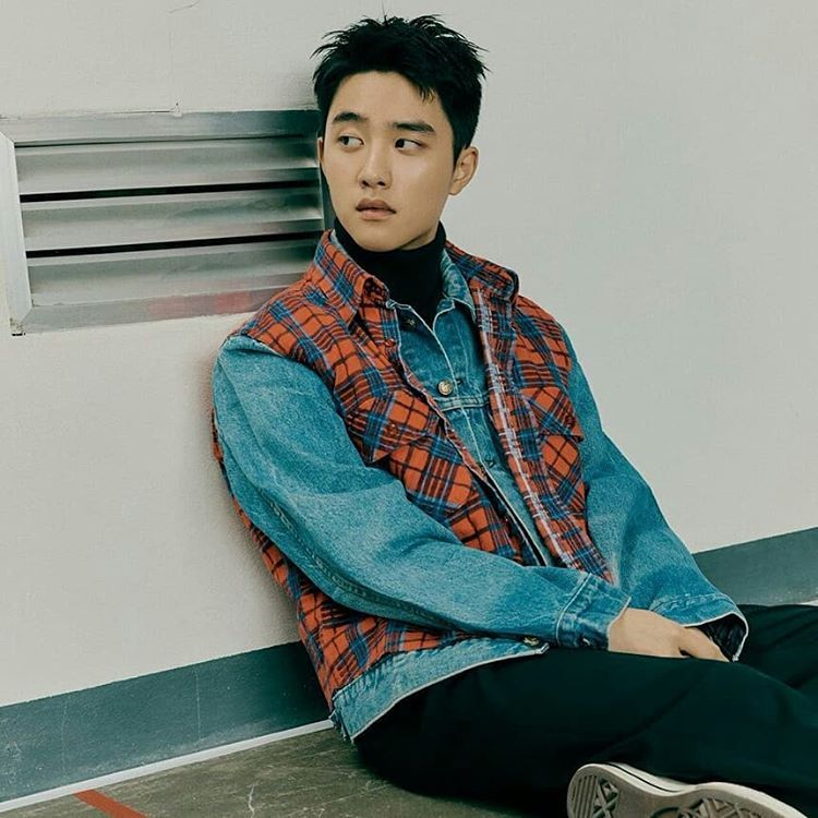 Dari Kasual Hingga Formal, 10 Mix and Match Turtleneck ala D.O EXO