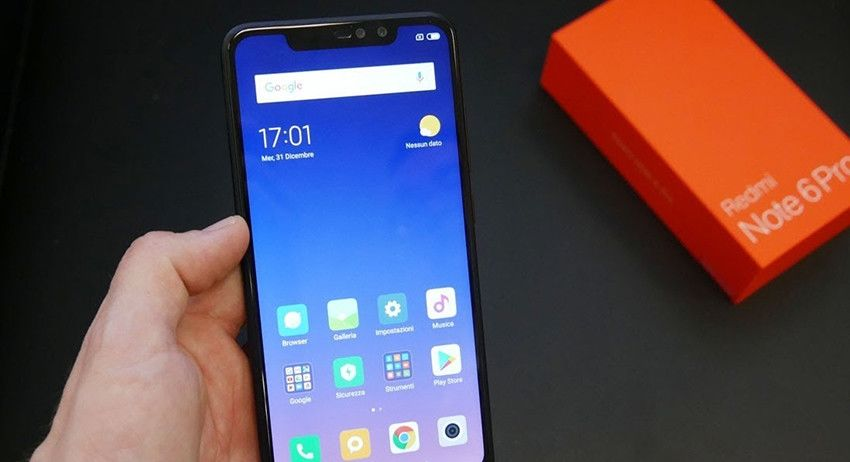 Image result for Resolusi  Xiaomi Redmi Note 6 Pro
