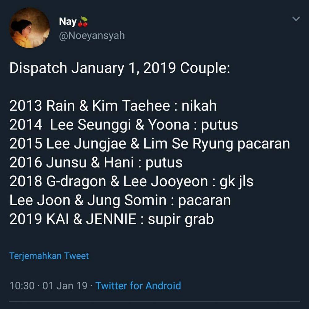 Bongkar Hubungan Kai & Jennie, 15 Meme Dispatch Ini Bikin Ngakak