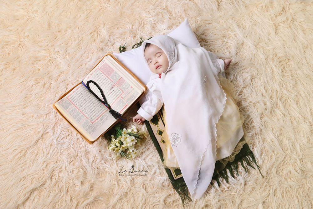 10 Inspirasi Photoshoot Bayi Dengan Tema Islami