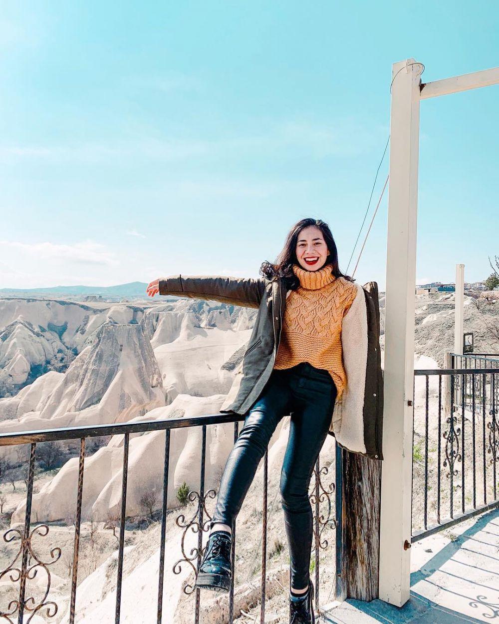 10 Potret Geng Selebgram Saat Liburan Sambil Kerja di Turki, Glamor!