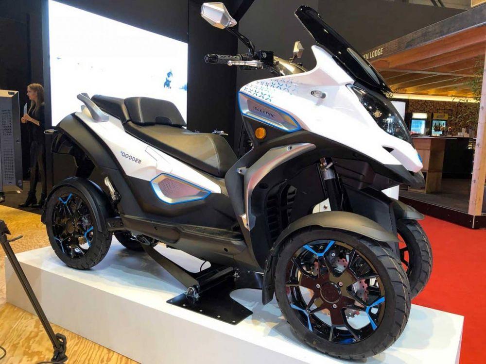 Yuk Kenalan dengan eQooder, Motor Listrik Revolusioner dengan 4 Roda