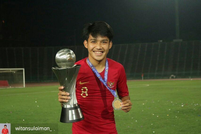 Jadi Juara Timnas U-22, 11 Potret Witan Sulaeman yang Curi Perhatian