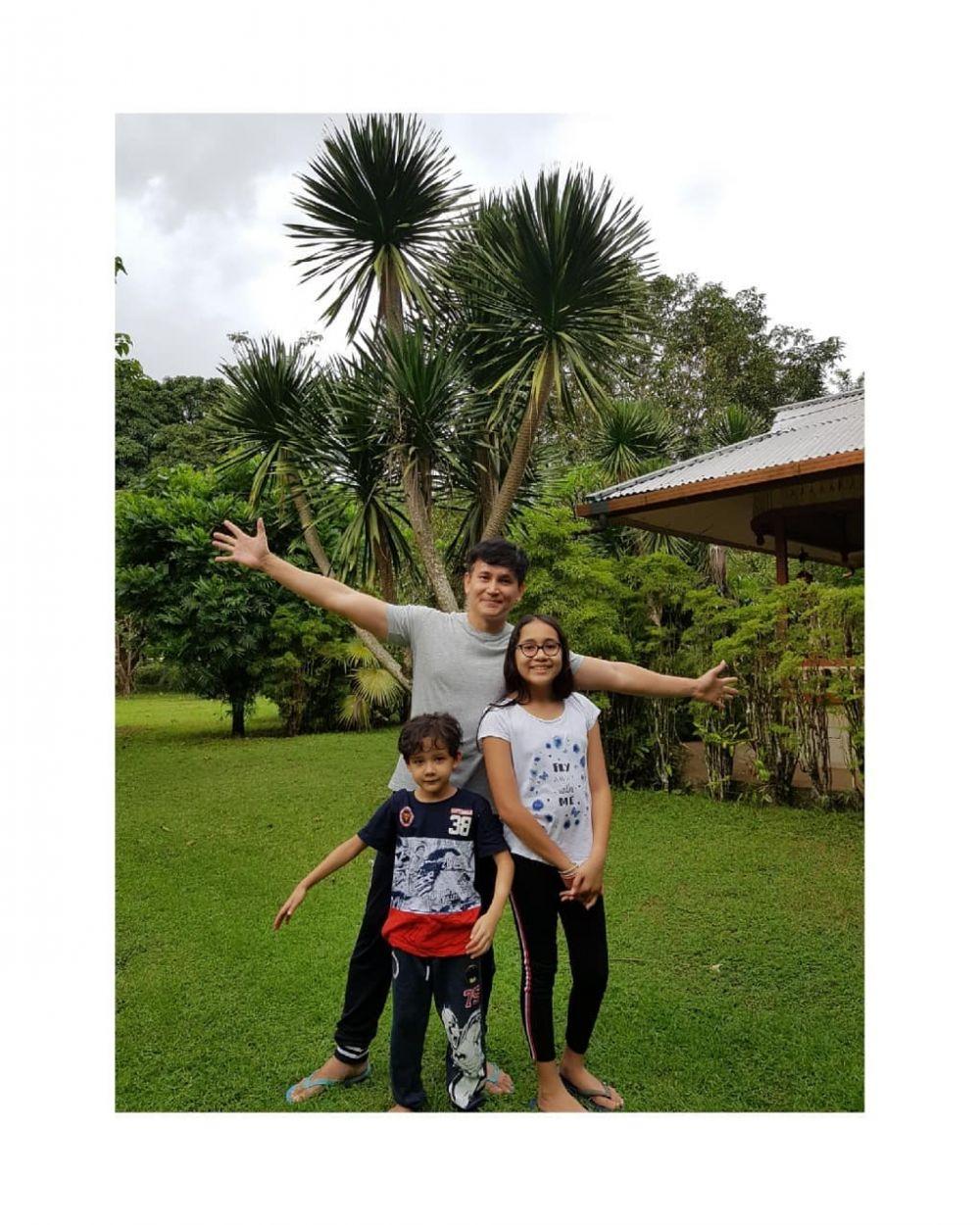 Jadi Full Time Daddy, 10 Bukti Kedekatan Marcelino Lefrandt & Anaknya