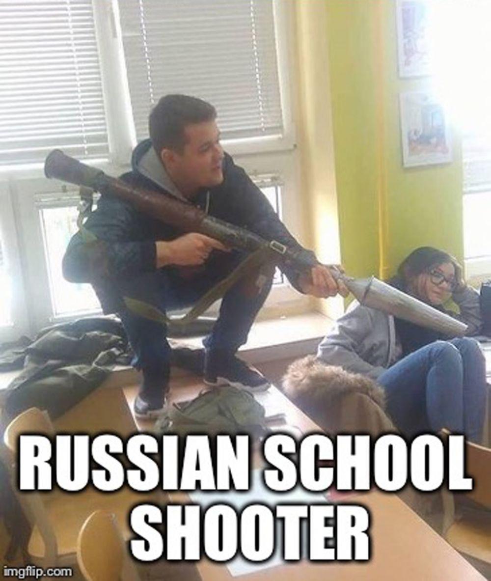 10 Meme Lucu 'Normal di Rusia' Ini Bikin Cengar-cengir Sendiri