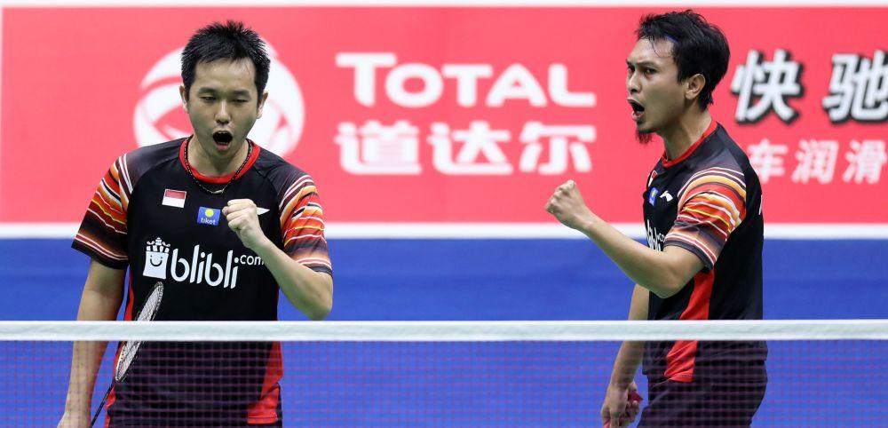 Hadapi Taipei, Ini Susunan Pemain Indonesia di QF Sudirman Cup 2019