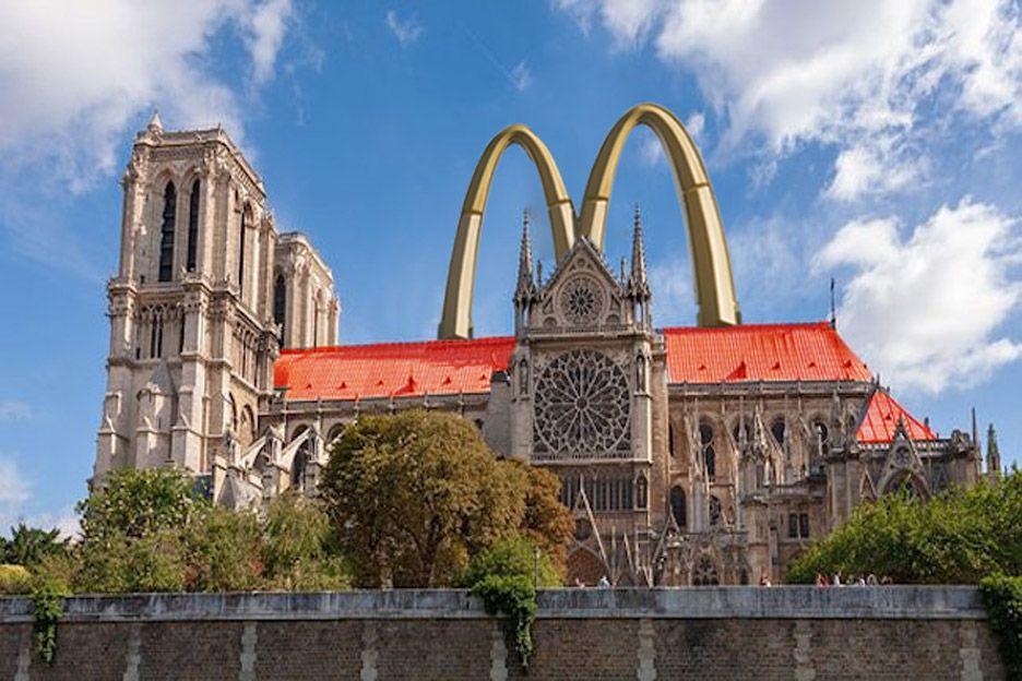 7 Desain Nyeleneh Renovasi Notre-Dame Usai Kebakaran, Ada Kolam Renang