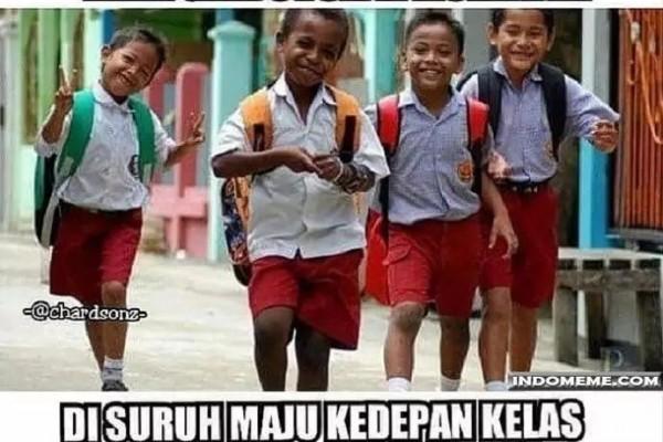 7 Meme Lucu Zaman Sekolah Ini Bikin Senyum Ingat Kekonyolan