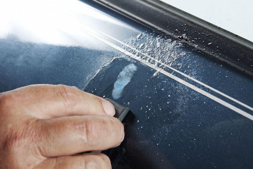 Tips Jitu Hilangkan Goresan di Mobil