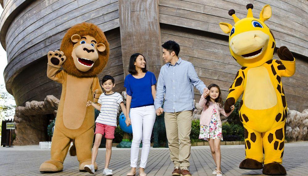 10 Potret Noah's Ark, Taman Bertema Bahtera Nabi Nuh di Hong Kong