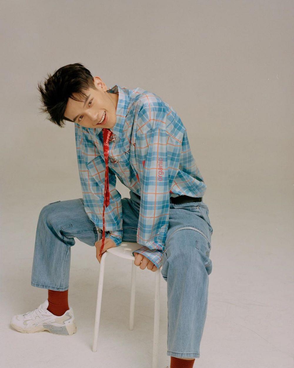 10 Gaya Fashion Boyfriend Material ala Yao Chi Eks Idol Producer 2