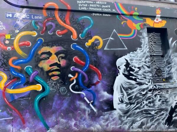 Terinspirasi Kim Kardashian hingga AC/DC, Ini 5 Mural Keren Melbourne