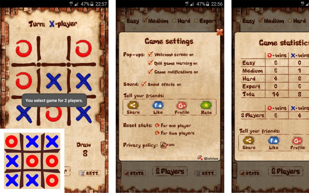 5 Tic-tac-toe Game Terbaik untuk Android, Gak Bikin Bosan!