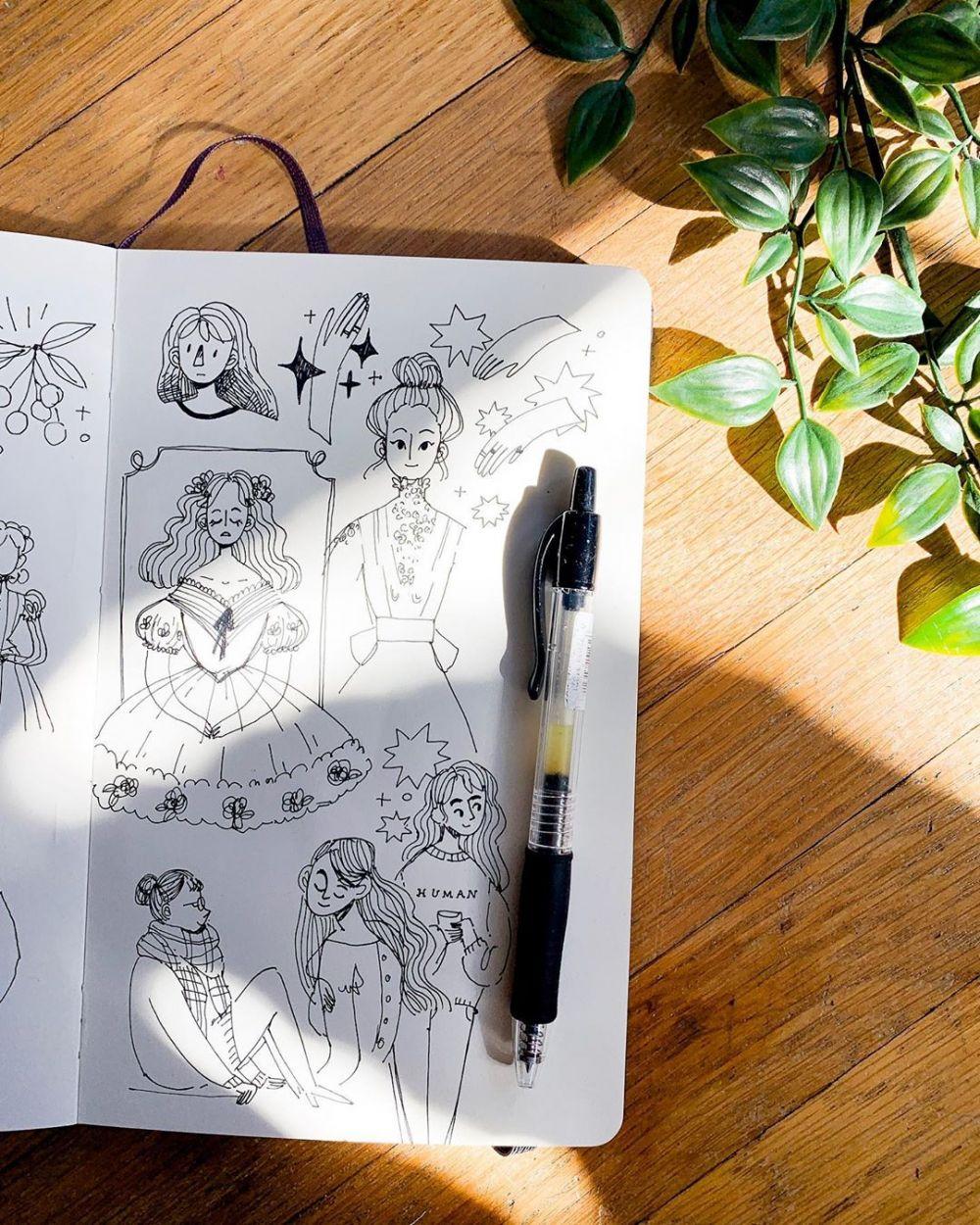 Memilih Buku Sketsa dan Kertas Gambar ada Tipsnya Memilih Buku Sketsa dan Kertas Gambar ada Tipsnya