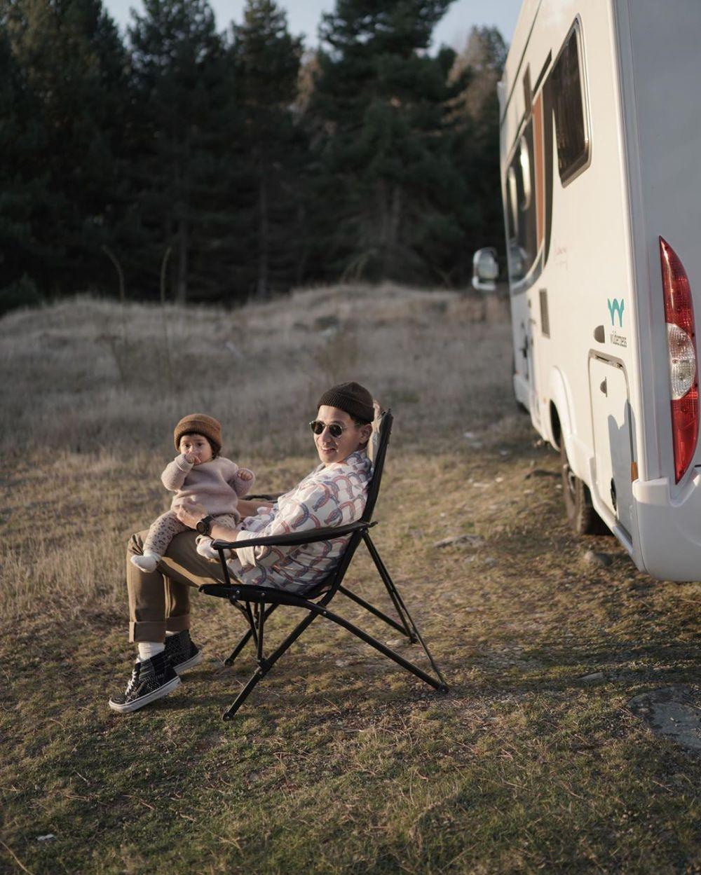 12 Keseruan Keluarga Ringgo, Tarra, dan Ditto Liburan dengan Campervan