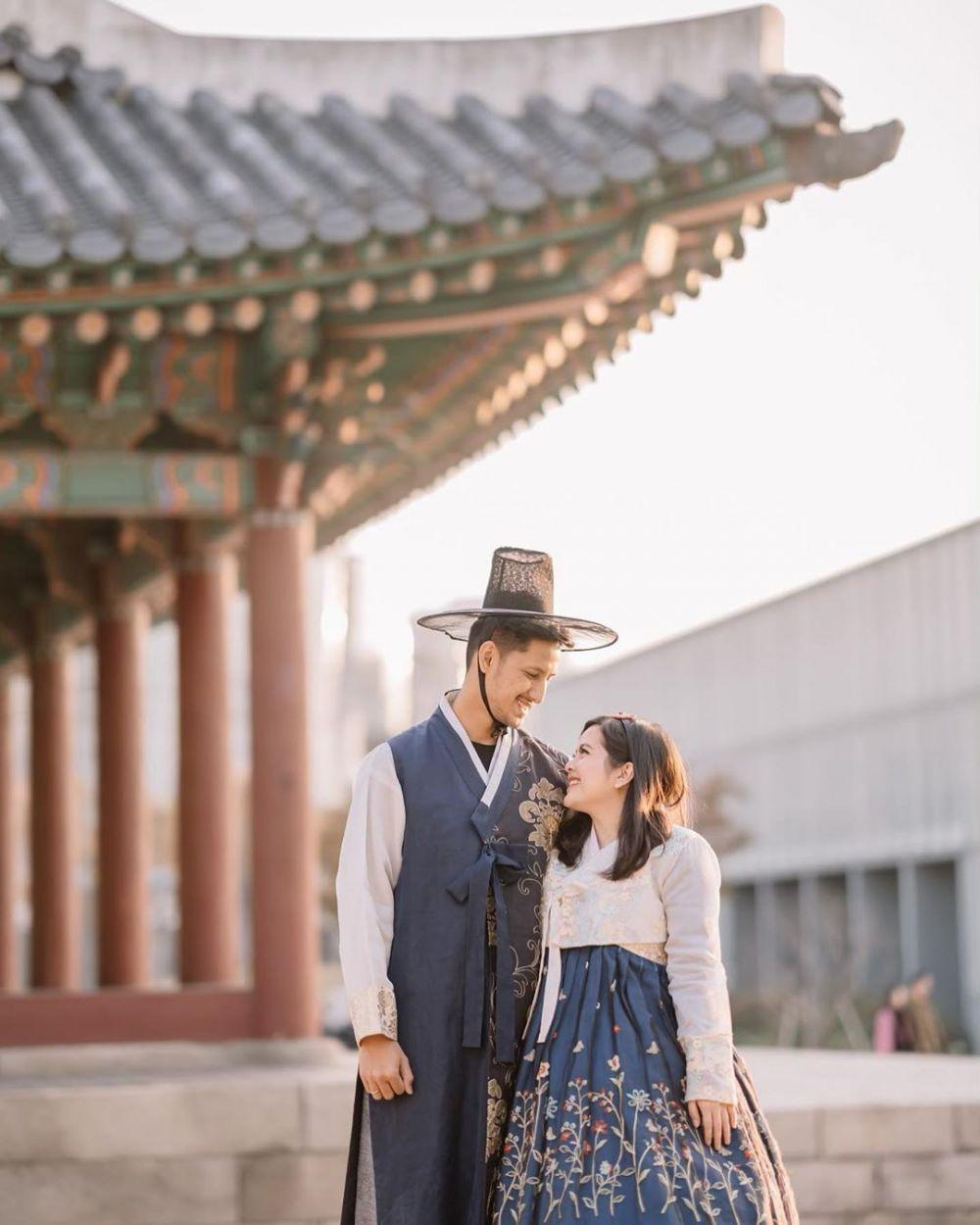 9 Potret Liburan Tasya Kamila dan Keluarga di Korea, Penuh Keceriaan!
