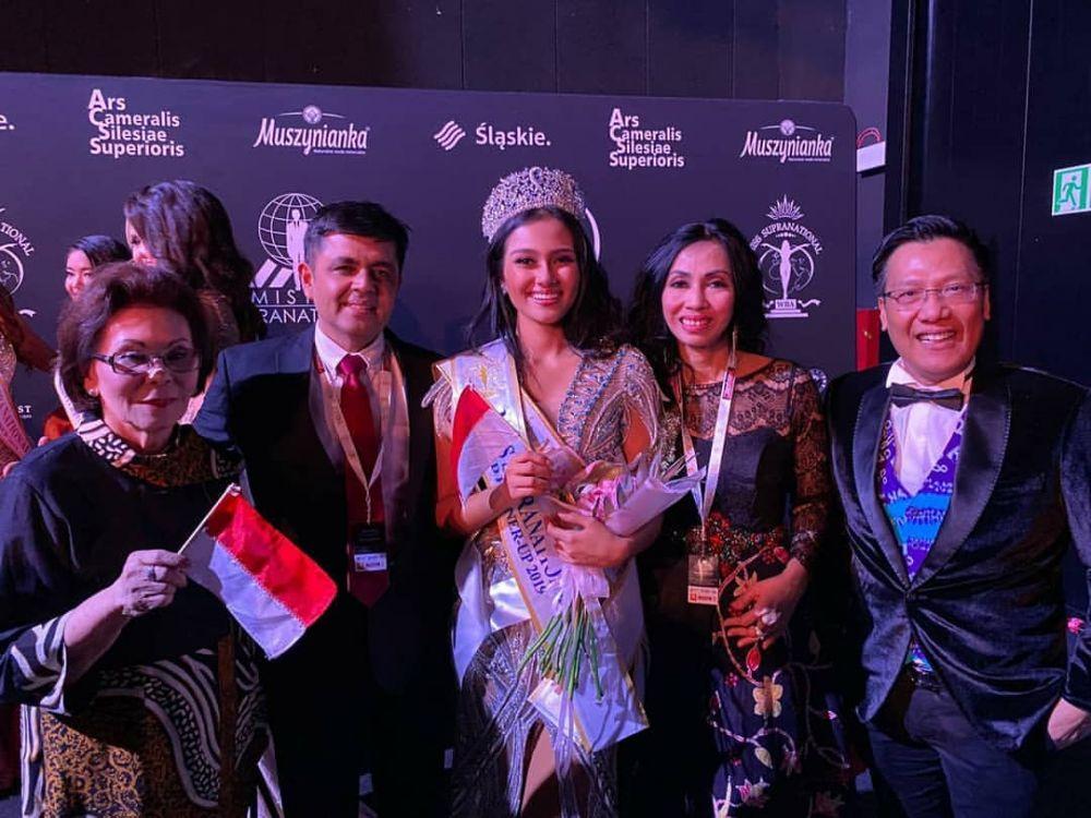 10 Potret Perjuangan Jessica Fitriana, 2nd RU Miss Supranational 2019
