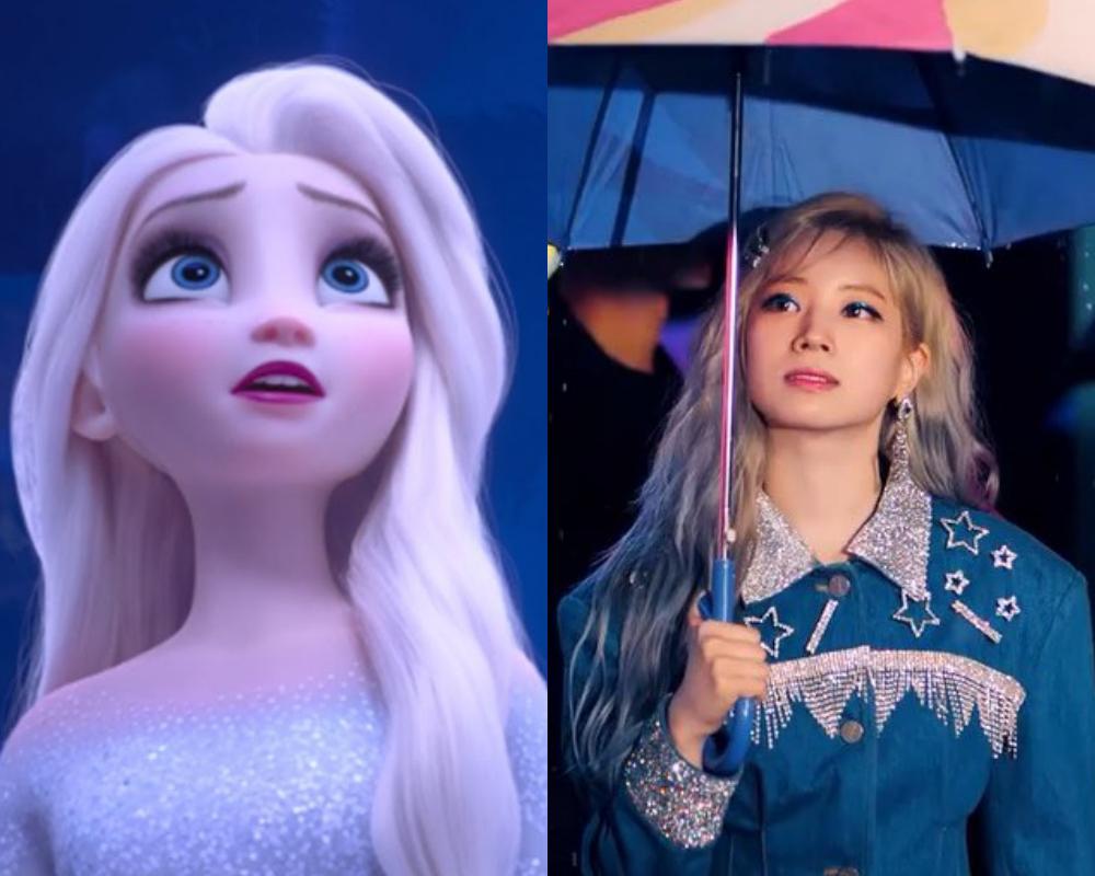 10 Bukti Dahyun Twice adalah Elsa Frozen Versi Nyata, Sangat Mirip!