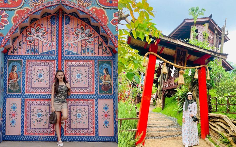 5 Potret The Great Asia Africa Destinasi Baru Di Lembang