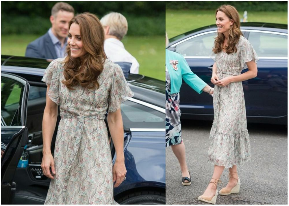 9 Gaya Midi Dress Mahal Kate Middleton, Bikin Jiwa Miskin Bergetar!