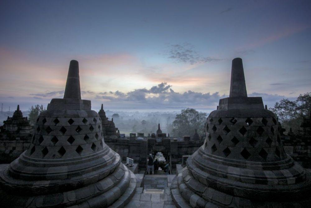 Relief yang Ada di Borobudur Gambarkan Ajaran dari Candi Muarajambi