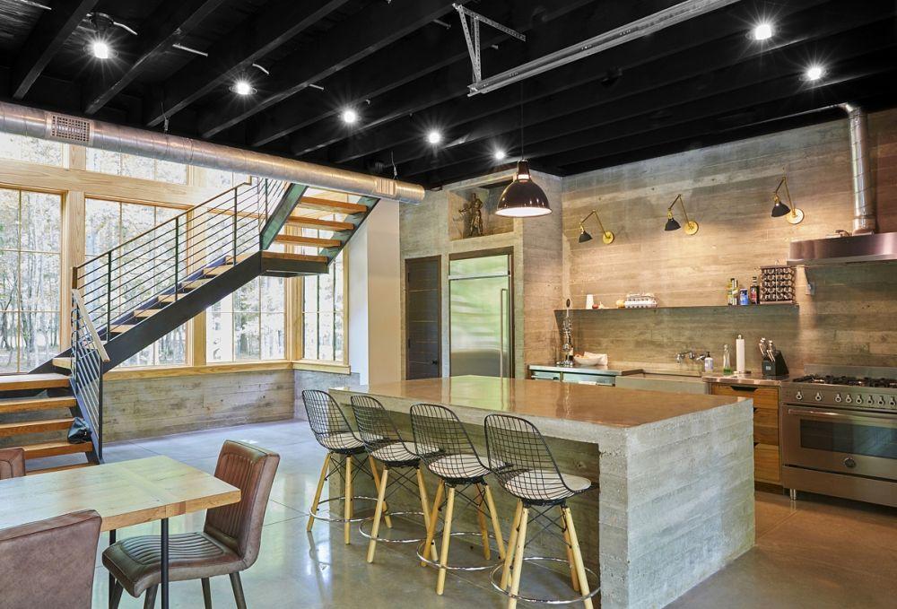 8 Desain Interior Bertema Concrete yang Berikan Suasana Kalem