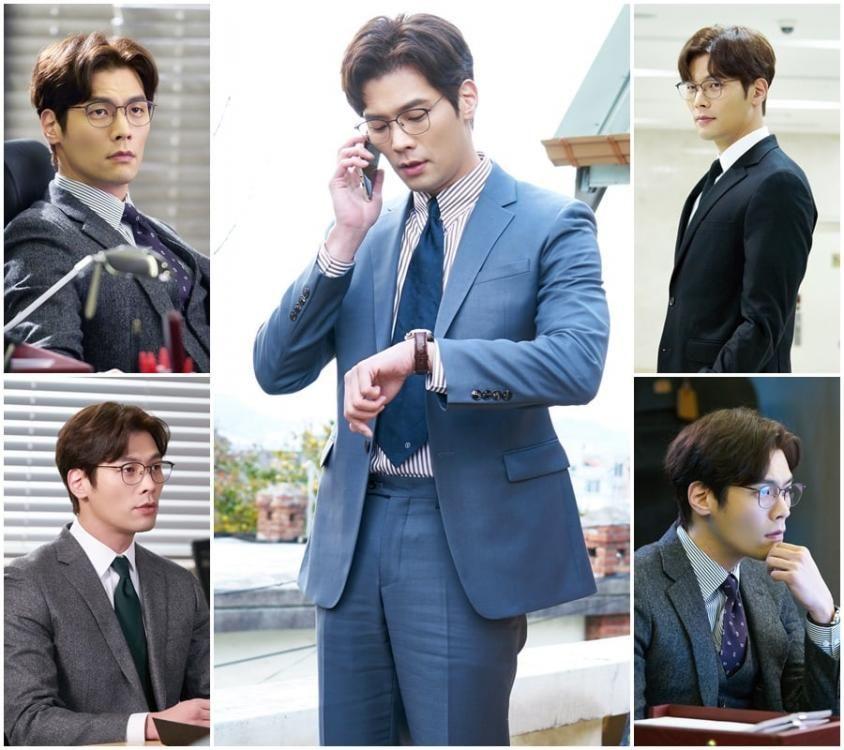 16 Potret Aktor Top Korea Pakai Kacamata, Bikin Kaum Hawa Histeris!