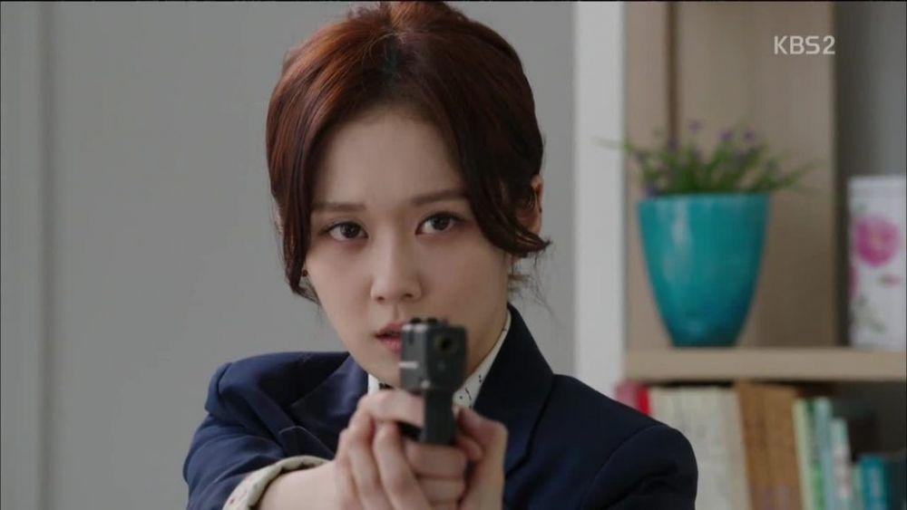10 Aktris Korea yang Cocok Memerankan Wanita Bersenjata