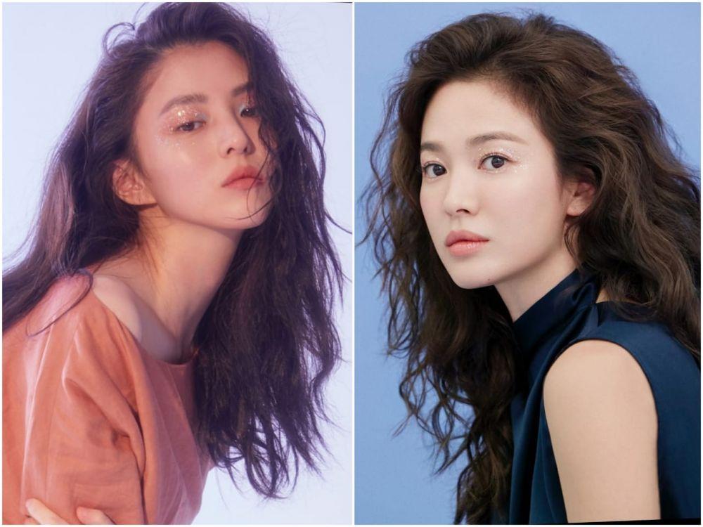 Bak Kembar! Ini 10 Potret Kemiripan Han So Hee dan Song Hye Kyo