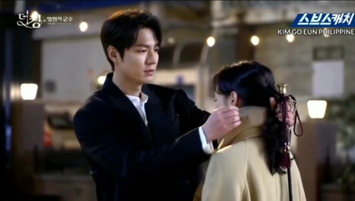 9 Potret Balik Layar Lee Min Ho & Kim Go Eun di The King, Romantis!