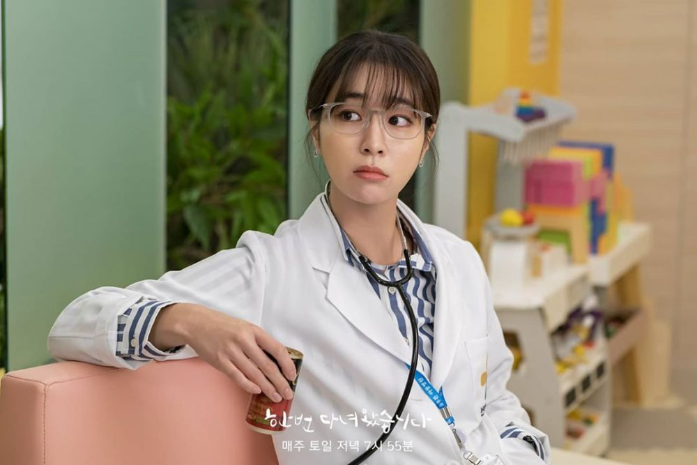 10 Visual Lee Min Jung Jadi Dokter Arogan di Once Again, Judes Abis!