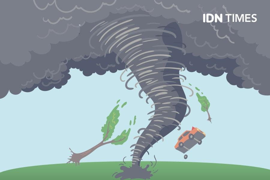 Mengenal Siklon Tropis yang Marak di Indonesia, Harus Waspada